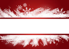 Merry Xmas banner Stock Photos