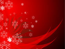 Merry Xmas BG. An Illustrated Background for Christmas Stock Image