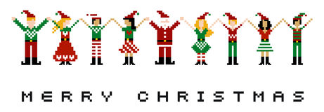 Merry Xmas celebration Royalty Free Stock Photos