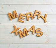 Merry Xmas composition Stock Images