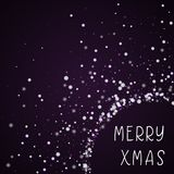 Merry Xmas greeting card. Stock Images