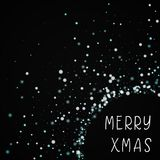Merry Xmas greeting card. Royalty Free Stock Photo