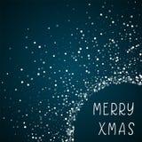 Merry Xmas greeting card. Royalty Free Stock Image
