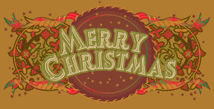 Merrycristmas_4 Stock Image
