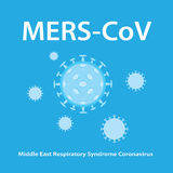 Mers-CoV (Middle East respiratory syndrome coronavirus) Stock Photo