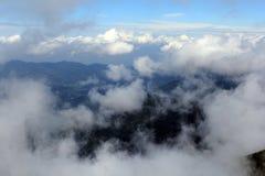 Mers des nuages Photos libres de droits