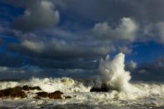 mers orageuses Photographie stock libre de droits