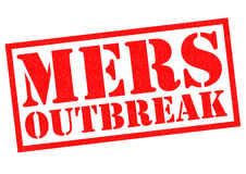 MERS OUTBREAK Royalty Free Stock Photos