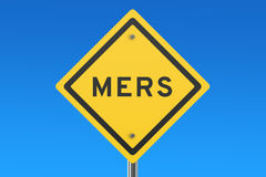 Mers sign Royalty Free Stock Photos