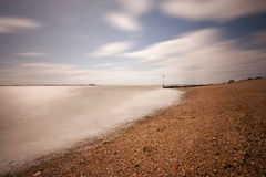 Mersea beach Stock Photography