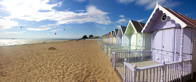 Mersea beach huts Royalty Free Stock Photography