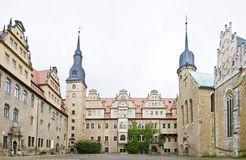 Merseburg castle Stock Photography