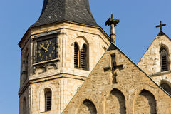 Merseburg Cathedral St. John and St. Laurentius Stock Photography