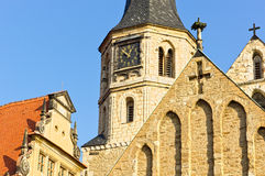 Merseburg Cathedral St. John and St. Laurentius Royalty Free Stock Images