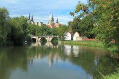 Merseburg scenery Stock Photo