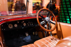Mersedes retro car Royalty Free Stock Image