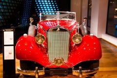 Mersedes retro samochód Zdjęcie Stock