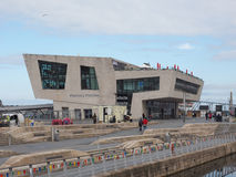 Mersey Ferry Pier Head in Liverpool Royalty Free Stock Photography