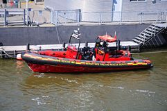 Mersey Fire and Rescue Boat. Royalty Free Stock Image