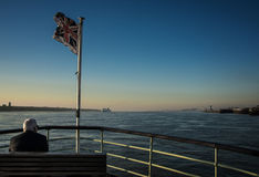 On The Mersey river Royalty Free Stock Image