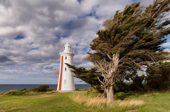 Mersey-Täuschungs-Leuchtturm lizenzfreies stockfoto