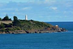 Mersey-T?uschungs-Leuchtturm Devonport Tasmanien, Australien lizenzfreie stockbilder