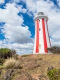 Mersey-Täuschungs-Leuchtturm in Tasmanien stockfotos