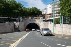 Mersey-Tunnelverkehr Stockfotos