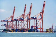 Mersin internationalport arkivbild