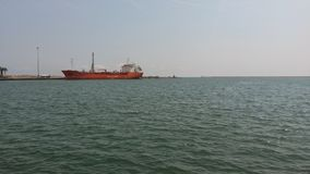 Mersin  port Stock Photo