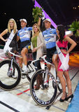 Mertens De Ketele  celebrates at Sixday-Nights Stock Photos