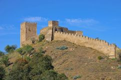 Mertola castle Stock Photography
