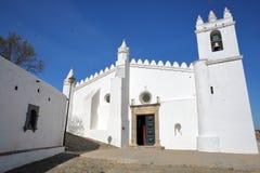 MERTOLA, PORTUGAL: Mesquita da igreja de Matriz a antiga de Mertola foto de stock royalty free