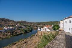 Mertola, a small town in Alentejo region, Portugal, Royalty Free Stock Photo