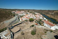 Mertola View from the Castle Royalty Free Stock Photo
