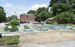 Merton alei społeczności ogród, Memphis, TN zdjęcia stock