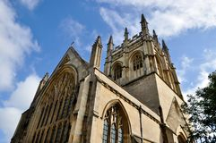 Merton College Chapel, Oxford Stock Image