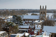 Merton College and Chapel Stock Photography