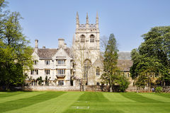 Merton College in the City of Oxford Royalty Free Stock Images