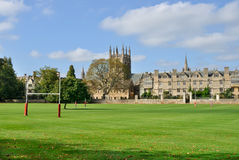 Merton College, Oxford Royalty Free Stock Photos