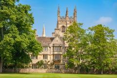 Merton College. Oxford, England Stock Photos