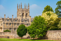 Merton College. Oxford, England Stock Images