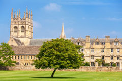 Merton College. Oxford, UK Royalty Free Stock Photo