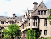 Merton College Oxford University Royalty Free Stock Photo