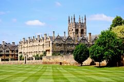 Merton College, Oxford. Royalty Free Stock Images
