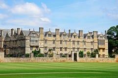 Merton College, Oxford. Stock Photography