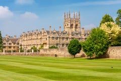 Merton högskola. Oxford UK Fotografering för Bildbyråer