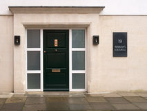 19 Merton street. The warden's lodgings (home of the head of Merton college), Oxford university, England Stock Images