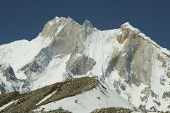Meru peak Royalty Free Stock Photo