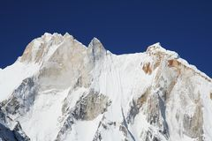 Meru peak Royalty Free Stock Photography